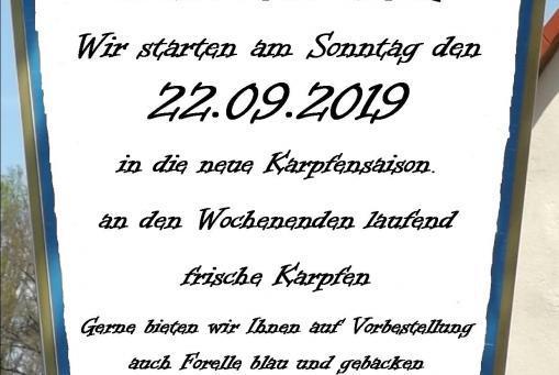 Karpfensaiasion 2019