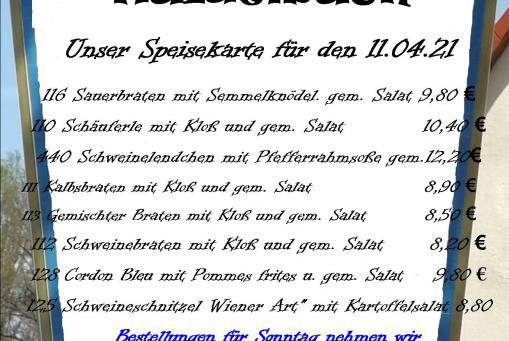 Speißekarte KW 14