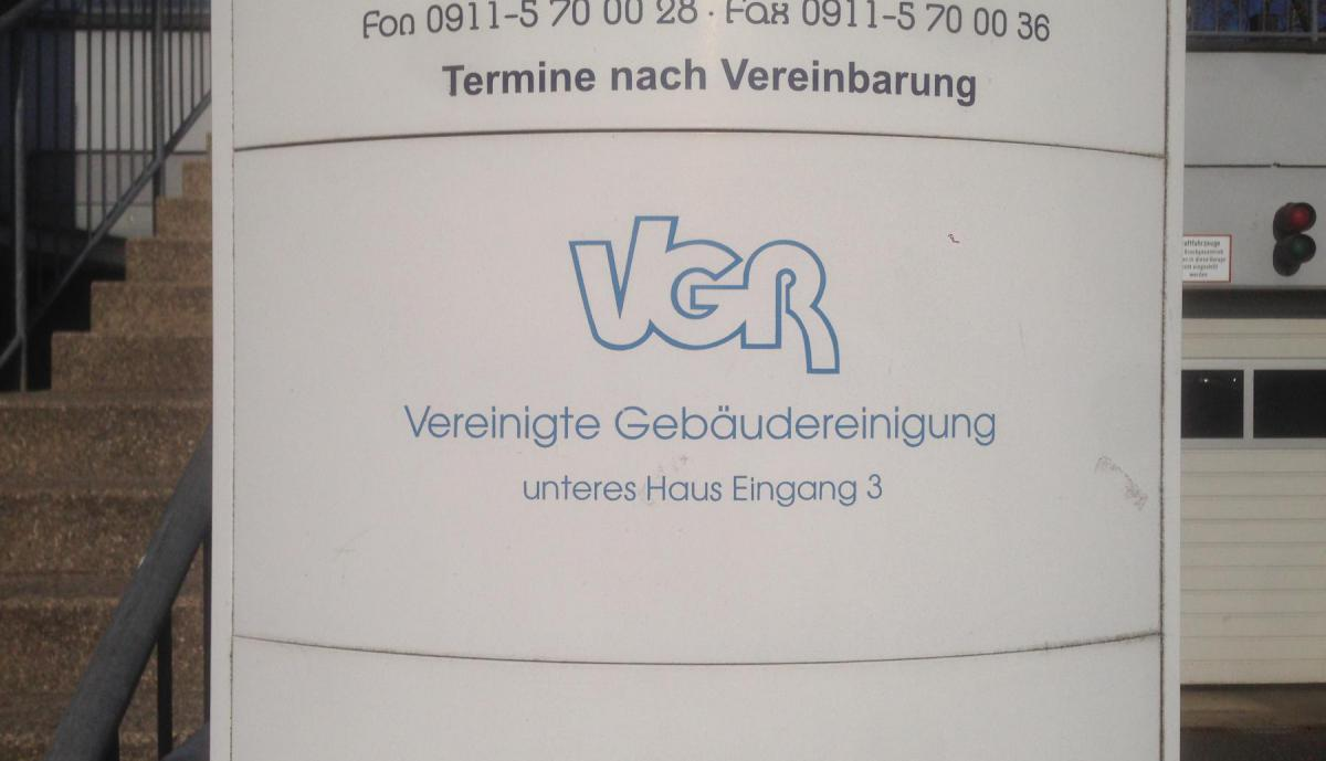 VGR Nürnberg GmbH in Lauf an der Pegnitz, Nürnberger Straße 21