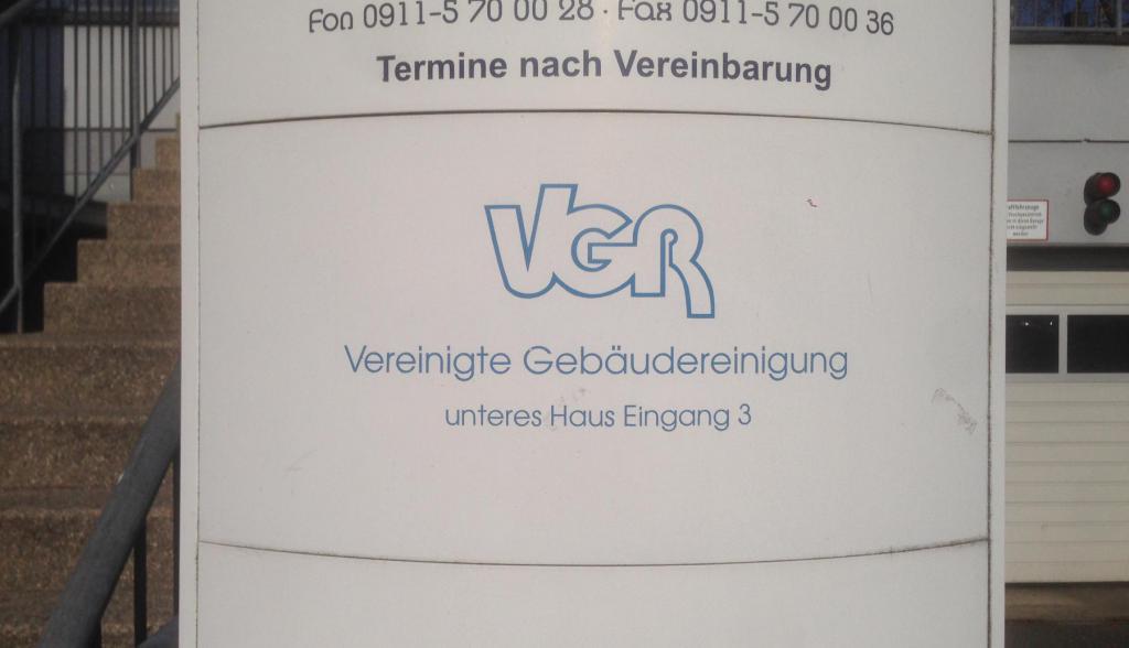 Öffnungszeiten VGR Nürnberg GmbH Lauf an der Pegnitz, Nürnberger ...