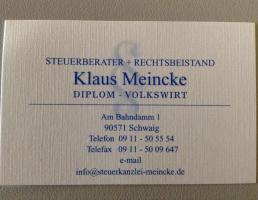 Klaus Meincke Steuerberater in Schwaig bei Nürnberg