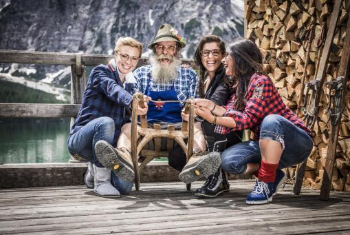 Holzbrillen aus Südtirol