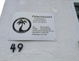 Palmenhandel in Rückersdorf