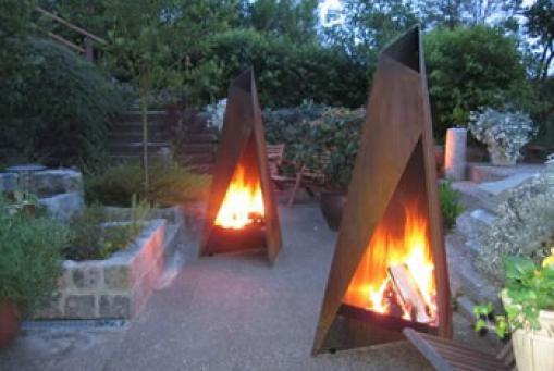 Tipi Feuersäule