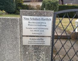 Nina Schubert-Hartlich in Leinburg