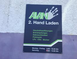 Alan 2. Hand Laden in Reutlingen