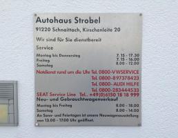 Autohaus Strobel GmbH in Schnaittach