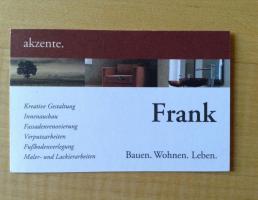 Malerbetrieb Erwin Frank in Simmelsdorf