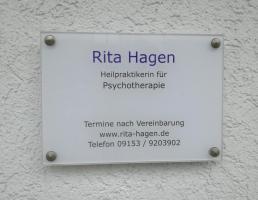 Rita Hagen Heilpraktikerin für Psychotherapie (HeilprG) in Schnaittach