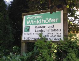 Wolfgang Winklhöfer Landschaftsgartenbau in Neunkirchen am Sand