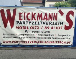 Weickmann's Partyzeltverleih in Schnaittach