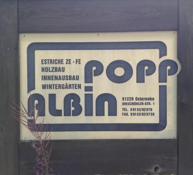 Albin Popp Estriche - Holzbau