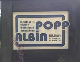 Albin Popp Estriche - Holzbau in Schnaittach