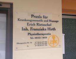 Franziska Hirth Praxis f. Krankengymn. & Massage in Schnaittach