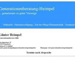 Generationenberatung-Heimpel in Schnaittach
