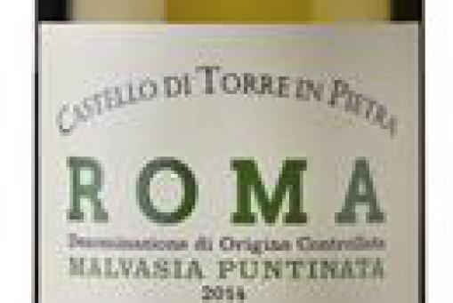 Bio-Weißwein: Roma 2016 - Castello di Torre in Pietra (Latium - Mittelitalien)
