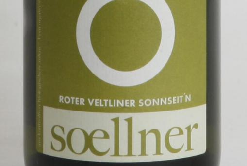 Bio-Weißwein: Roter Veltliner 'Sonnseit'n' 2018 (Wagram - Österreich)