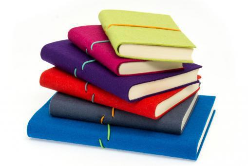 Bindewerk Notizbuch Filz