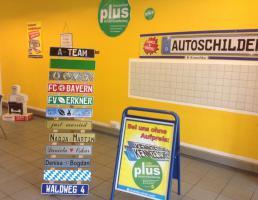 Autoschilder Kroschke in Regensburg