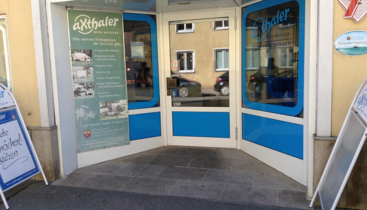 Metzgerei Axthaler Innere Münchener Str. in Landshut