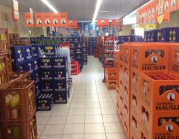 Hausler Getränkemarkt Altmühlstraße in Regensburg