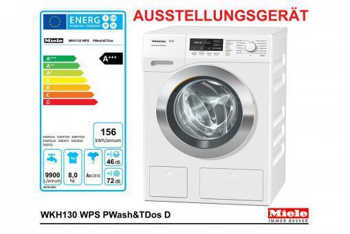 Miele WKH130WPS Waschmaschine 8 kg 1600 Umdr./Min. A+++ TwinDos QuickPowerWash Ausstellungsgerät