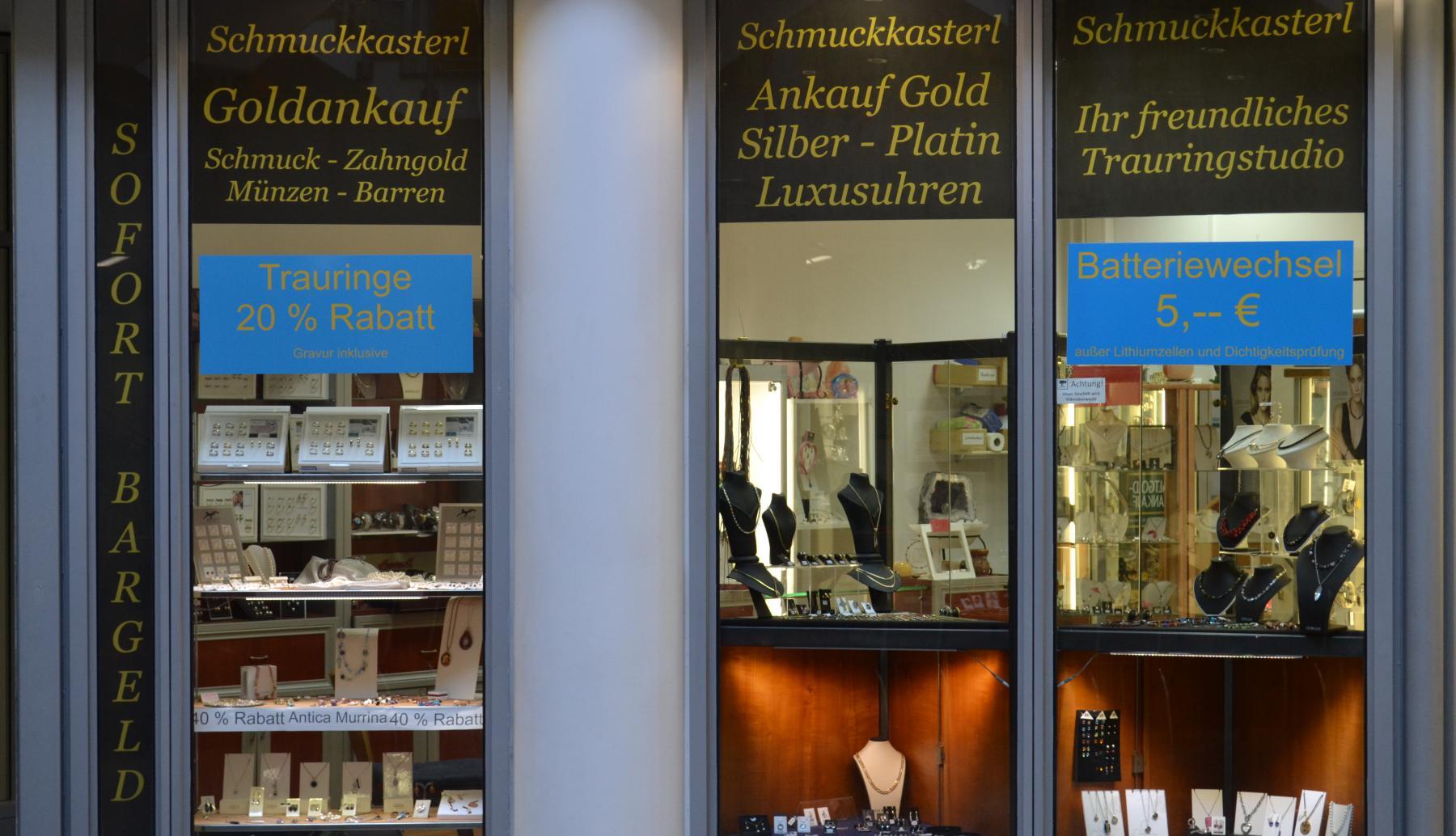 schmuckkasterl in regensburg dr gessler str 45. Black Bedroom Furniture Sets. Home Design Ideas