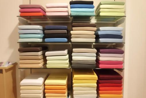 Große Auswahl an Spannbetttüchern