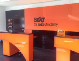 SIXT rent a car in Regensburg