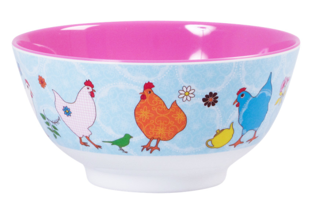 Bowl Hühnermotiv