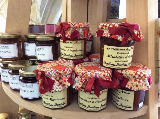 Marmeladen oder Confiture
