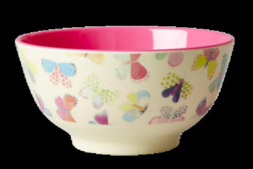 Bowl Schmetterlinge