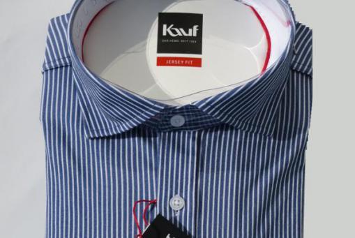 JERSEY FIT - Hemd 100% Baumwolle
