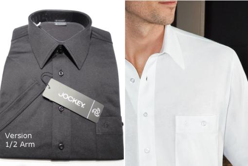 Jerseyhemden von Jockey 1/2 Arm