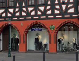 Köhler Herrenkleidung Fulda in Fulda