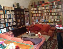 Literaturcafé und Antiquariat in Regensburg