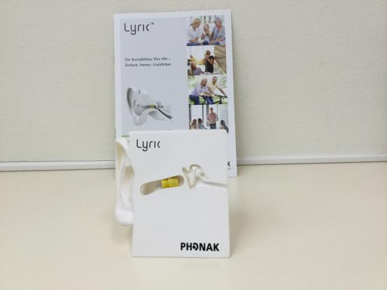 Phonak Lyric - das unsichtbare Hörgerät im Gehörgang